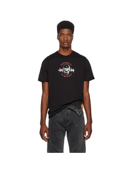 Ssense Exclusive Black Samizdat Skull T Shirt by Yang Li
