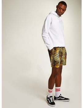 Tiger Print Pull On Shorts by Topman