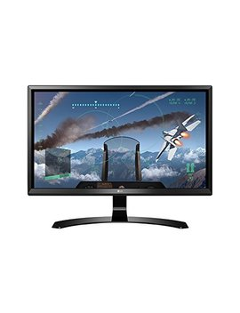 Lg 24 Ud58 24 Inch 4 K Uhd Ips Monitor (3840 X 2160, 2x Hdmi, Display Port, 250 Cd/M2, 5ms, Amd Freesync) by Lg Electronics