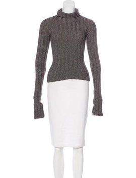 Ann Demeulemeester Turtleneck Knit Sweater by Ann Demeulemeester