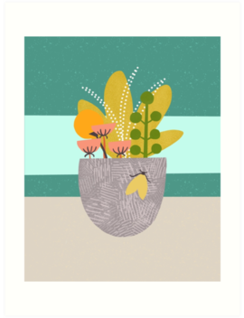 Planter Moth by Birdsong Prints