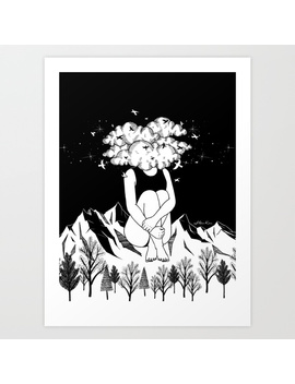 Across The Universe Art Print by