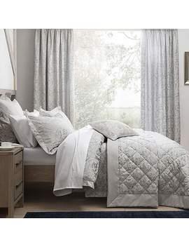 Dorma Winchester Grey Bedspread by Dunelm