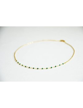 Leae Necklace by Manora Bijoux