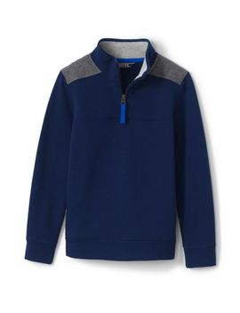 Boys Half Zip Pullover by Lands' End