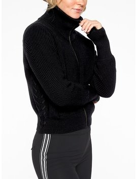 Swissvale Bomber Sweater by Athleta