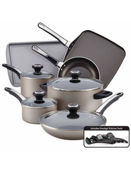 Farberware® High Performance 17 Pc. Nonstick Aluminum Cookware Set by Farberware