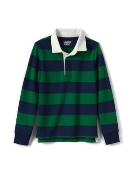 Toddler Boys Stripe Rugby by Lands' End