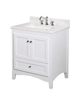 "Kbc Abbey 30"" Single Bathroom Vanity Set & Reviews by Kitchen Bath Collection"