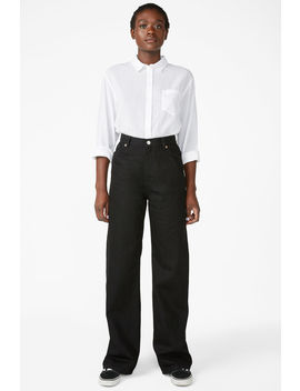 Yoko Black Jeans by Monki