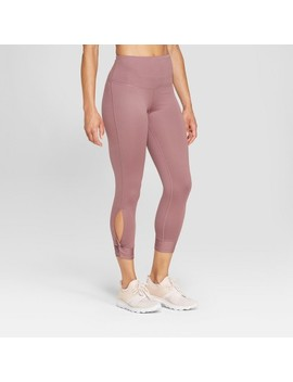 "Women's Everyday High Waisted Capri Leggings 22""   C9 Champion® Purple L by Shop All C9 Champion®"