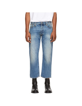Blue Hayden Washed Jeans by R13