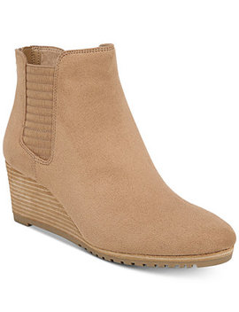 Critic Wedge Booties by Dr. Scholl's