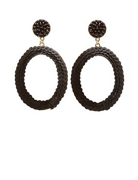 Oval Drop Earrings by Charlotte Russe