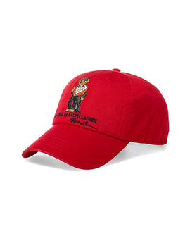 Dive Bear Chino Cap by Polo Ralph Lauren