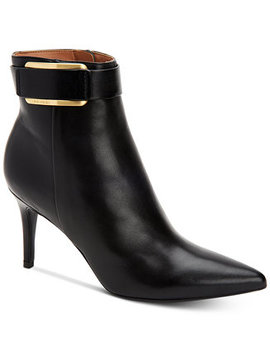 Women's Georgene Booties by Calvin Klein