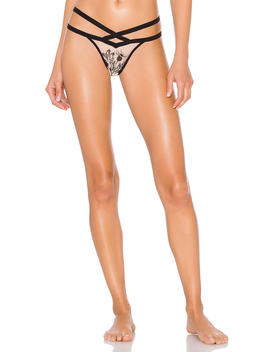 Verona Embroidered Thong by Thistle & Spire
