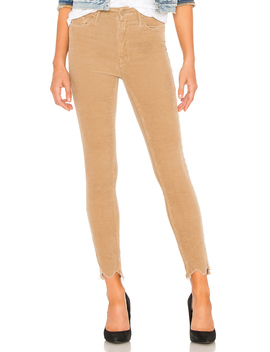 High Waisted Looker Ankle Chew Corduroy by Mother