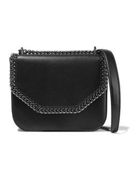 Falabella Faux Leather Shoulder Bag by Stella Mc Cartney