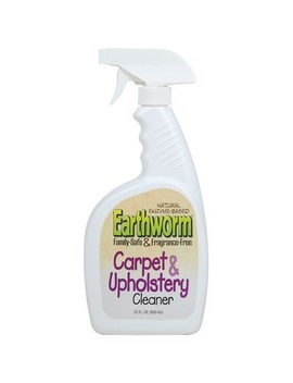 Earthworm Carpet & Upholstery Cleaner Spray Family Safe, 22 Fl Oz by Earthworm
