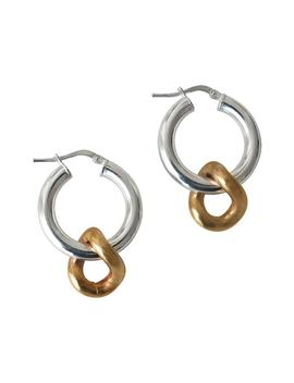 Onda Charm Earrings by Laura Lombardi