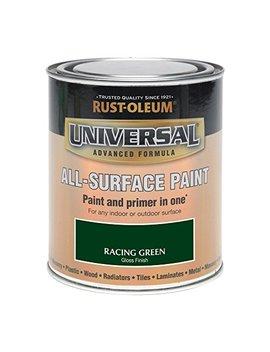 Rust Oleum 250ml Universal Paint   Gloss Racing Green by Rustoleum