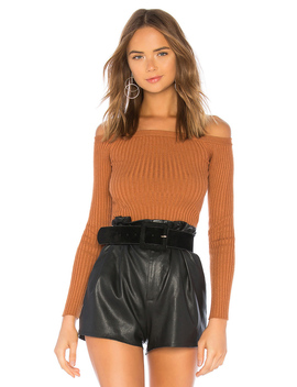 X Revolve Dove Rib Sweater by House Of Harlow 1960
