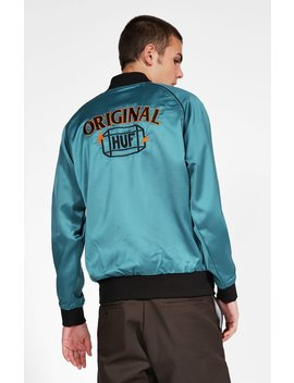 Cabbie Satin Jacket by Huf