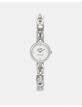 Signature Chain Watch, 26mm by Coach