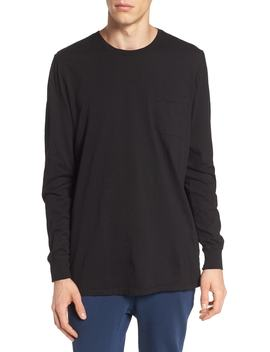 Lounge Long Sleeve Pocket T Shirt by Richer Poorer