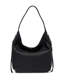 Medium Bryn Double Zip Leather Hobo Bag by Rebecca Minkoff