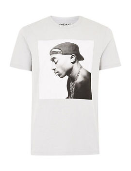 Stone 2 Pac T Shirt by Topman