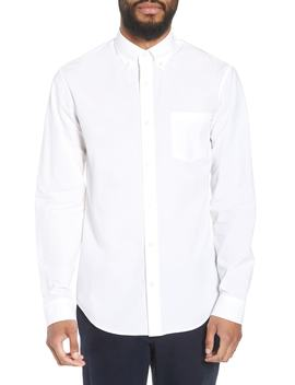 Slim Fit Solid Sport Shirt by Vince