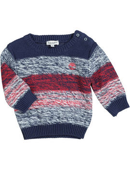 Blue White & Red Jumper by Timberland