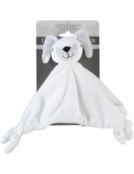 Ivory Bunny Comforter 24x30cm by The Little Linen Company Australia