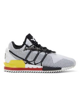 Black & White Harigane Sneakers by Y 3