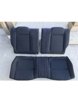 Jdm 1994 2001 Acura Integra Type R Dc2 Oem Rear Seats Itr Coupe Red Stitches by Honda