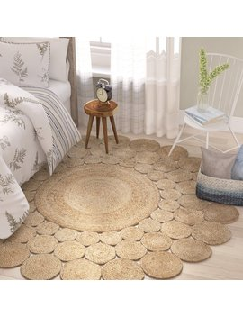 Laurel Foundry Modern Farmhouse Highwood Jute Hand Braided Natural Area Rug & Reviews by Laurel Foundry Modern Farmhouse
