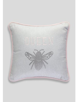 Queen Bee Cushion (30cm X 30cm) by Matalan