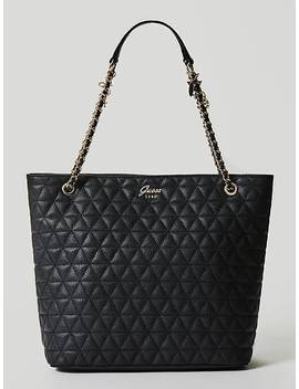 Fleur Quilted Look Shopper by Guess