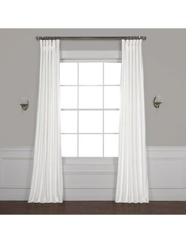 Red Barrel Studio Riverton Solid Room Darkening Rod Pocket Single Curtain Panel & Reviews by Red Barrel Studio