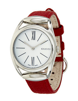 Gucci Women's Leather Watch by Gucci