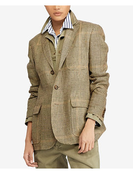 Plaid Blazer by Polo Ralph Lauren