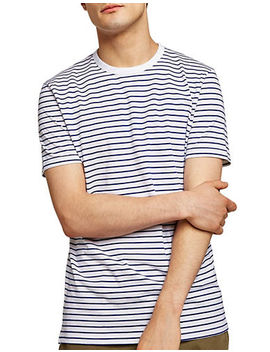 Slim Fit Striped T Shirt by Topman