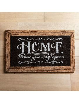Home Is Where Your Story Begins Doormat by Pier1 Imports