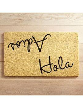 Hola Adios Doormat by Pier1 Imports