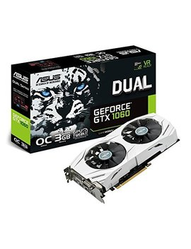 Asus N Vidia Ge Force Gtx1060 3 Gb Dual Video Card Gddr5 Dual Gtx1060 O3 G by Asustek
