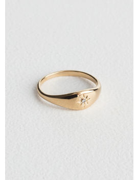Star Embossed Ring by & Other Stories