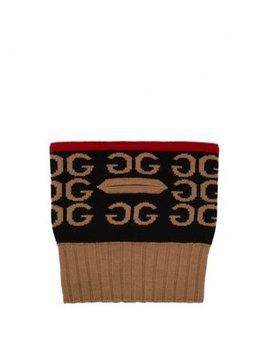 Gg Wool Knit Balaclava by Gucci