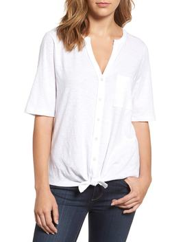 Tie Front Tee by Caslon